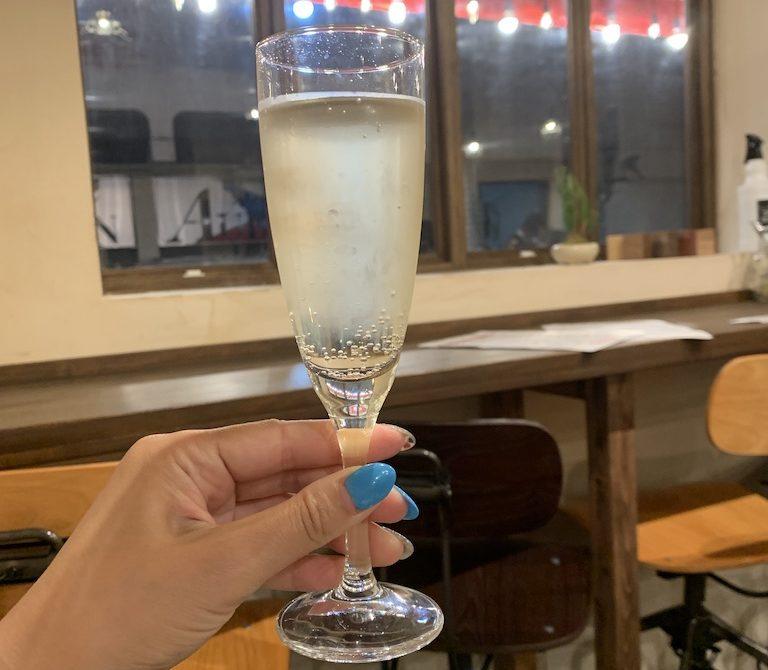 岸和田市にあるPASKO(パスコ)のスパークリングワイン