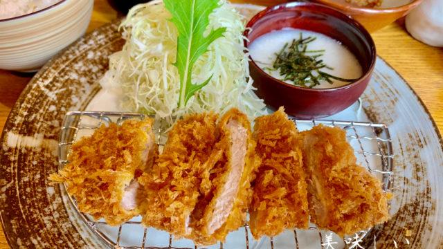 岸和田市の美味しいトンカツかつらい