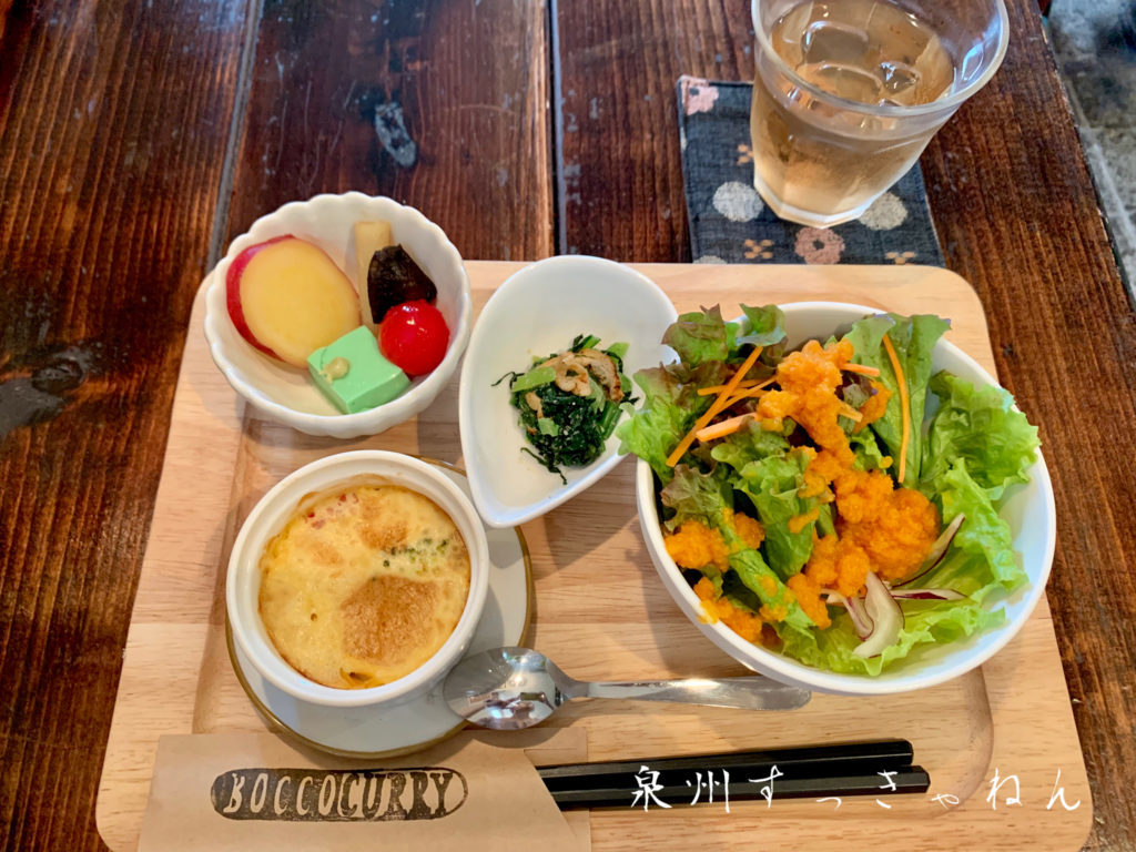 BOCCO CURRYのランチ