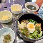 岸和田駅前商店街の韓国料理KOREANAのビビンバ